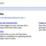 Google Optimization – Using Webmaster Tools to Assess Links