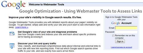 webmaster-tools