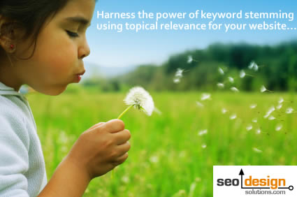 Create Topical Relevance for Keyword Stemming