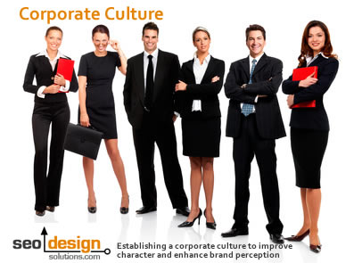 corporate culture and establishing a corporate culture to improve character and enhance brand perception.