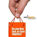 Do You Buy, Sell or Earn Website Traffic?