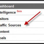 "Log in to Google Analytics and ""View Traffic Sources""."
