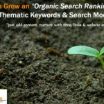 How to Grow an Organic Search Ranking using Thematic Modifiers