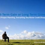 Website Authority: Short Term Gain or Long Term Growth?