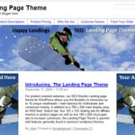 Screenshot of Happy Landing - Landing Page Theme!