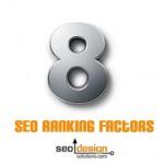 8 Factors for SEO Rankings