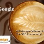 "Will Google Caffeine ""Jolt"" The SEO Community?"