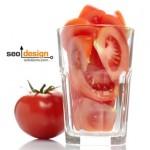 Watering My SEO Tomato Plant