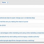 Select the Page in Google Analytics to View