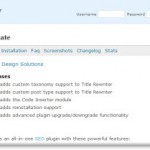 WordPress 3.0 Compatible SEO Ultimate 2.9.1 Update