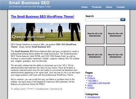 Small Business SEO WordPress Theme